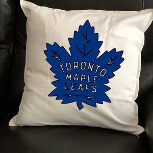 Other - Toronto maple leaf pillow